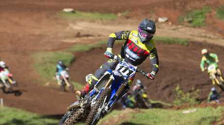 Dean Ferris competes in the Sixth round of the RXT Shell Sunshine State MX Series at Echo Valley . .
