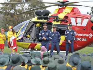 Lifesavers visit Drayton school
