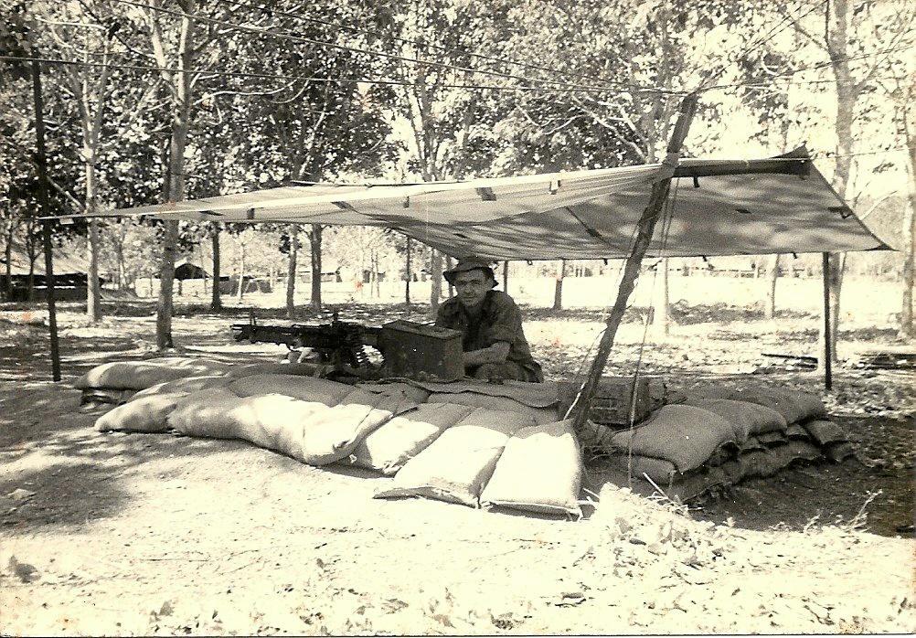 Sunshine Coast Vietnam War veteran Laurie Drinkwater fought in the Battle of Long Tan.