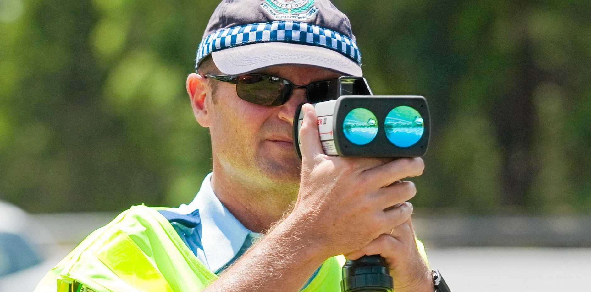 SLOW DOWN: Police in Wide Bay and Burnett busted more than 2000 drivers for speed related offences between July 1 and Sunday.