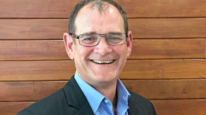 New Regional Development Australia Sunshine Coast CEO Darrell Edwards.
