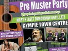 DON'T MISSI ITL Gympie is getting ready to Pre Muster Party is on Wednesday.