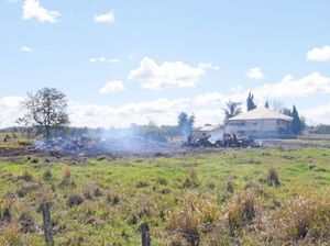 Sadness after Mary Valley barn destroyed