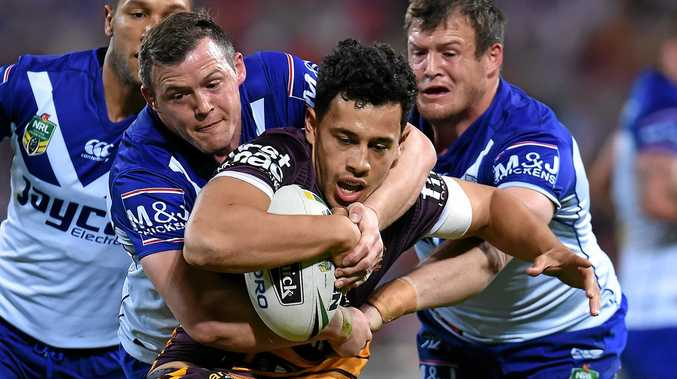 BIG NIGHT: Jordan Kahu will have a tough test against the Melbourne Storm on Friday night.
