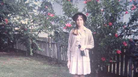 Joan Isaacs at 14.