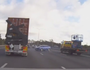 DASHCAM: Truck sends car spinning during merge madness