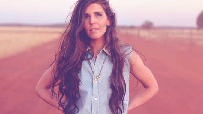 Alternative country folk singer Fanny Lumsden will perform at the Gympie Muster.