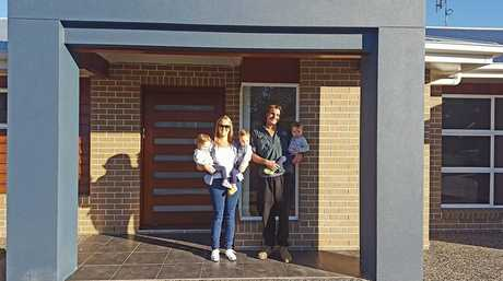 Happy customers of Hancock Builders La & Mm. Photo Contributed
