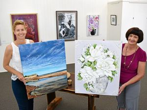Sea, skies and flora on show