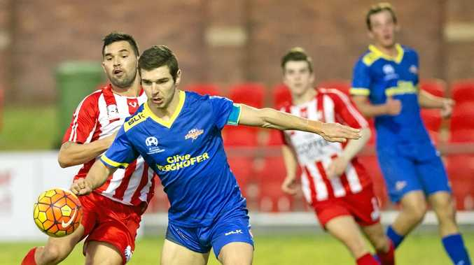 MOVING ON: Captain Keagan Sheridan has passed on the chance to play against the Brisbane Roar for an NPL Select side to pursue trials in Finland and the UK.