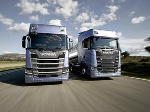 Scania unveils new truck range in Paris