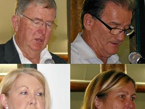 Council election candidates clear cobwebs for meeting