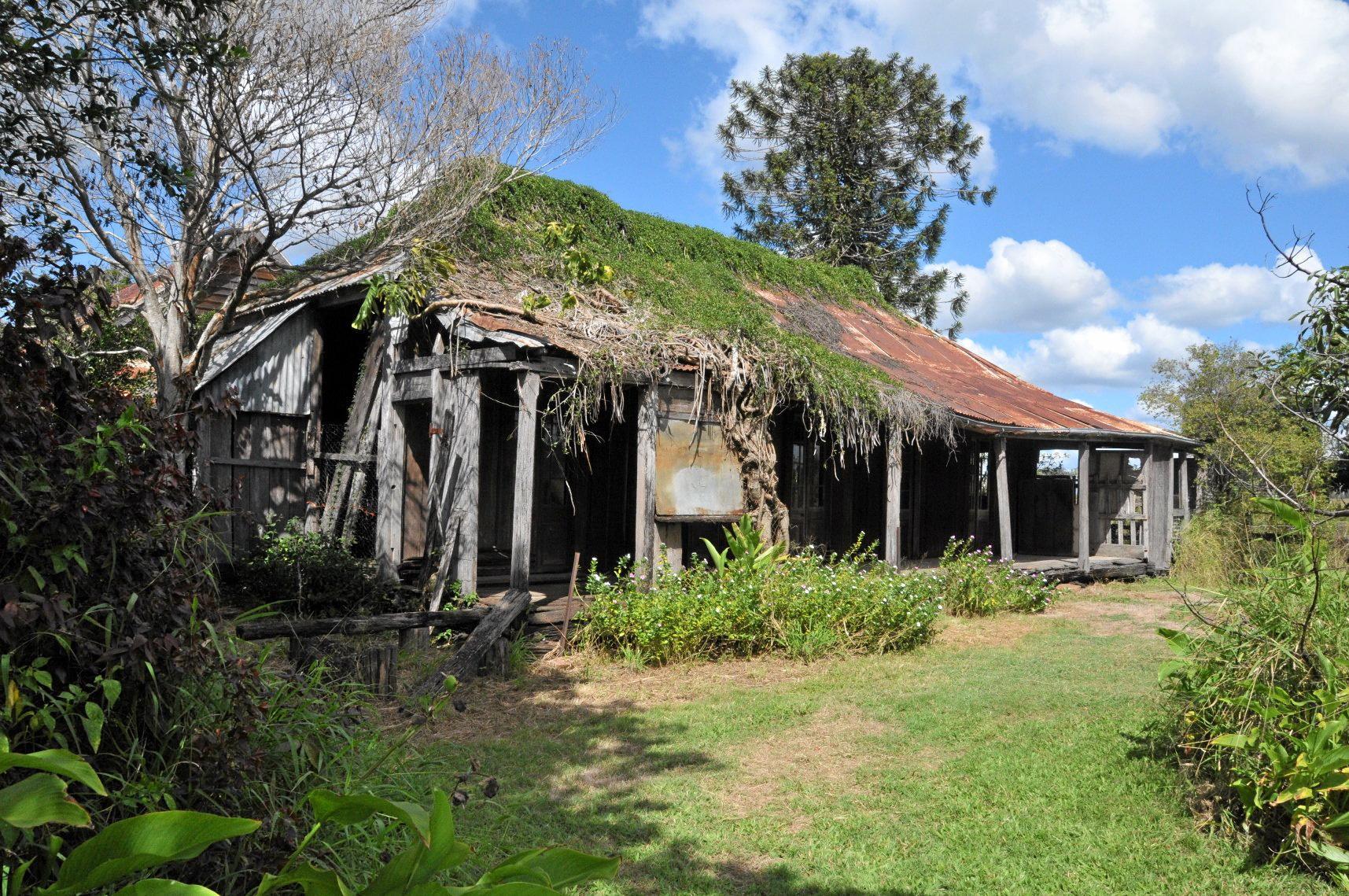 Rosedale Station slab hut.