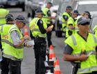 Police conduct a traffic blitz on Maroochy Boulevard at Maroochydore.
