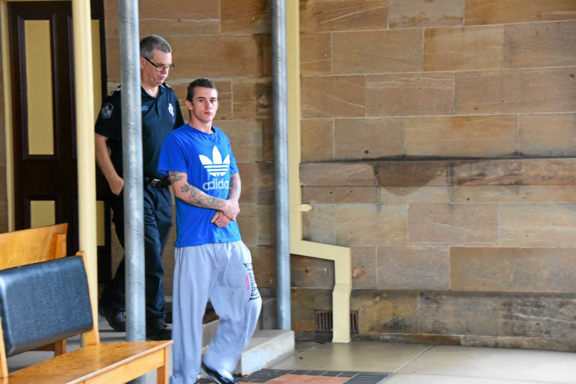 Brandon Clay Hill was jailed for eight months for a brazen home invasion.