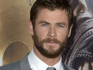 Chris Hemsworth not happy