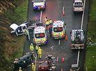 Two taken to hospital after Bruce Highway crash