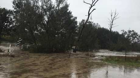 Water levels rising on the Darling Downs.