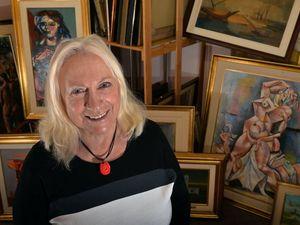 Half-million dollars in art found in Coast spare room