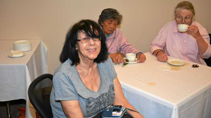 Dale Ann Dowden, 70, of Gatton enjoying the over 50s Lifestyle Expo.