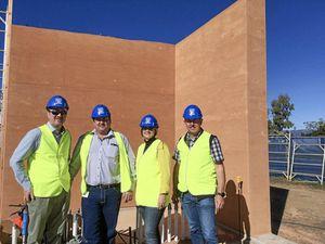 New aquatic centre taking shape