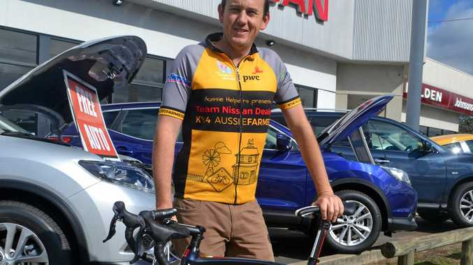 READY TO RIDE: James Tresillian is one of 50 riders set to tackle the region's roads this week.