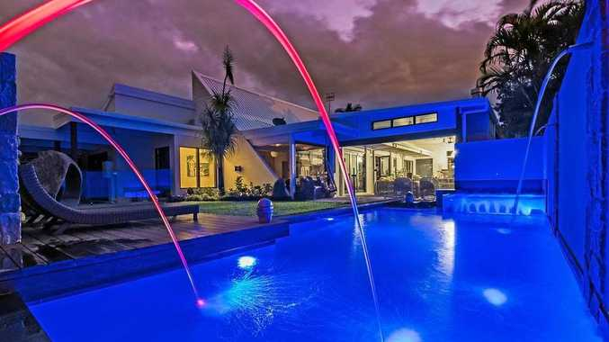 H-2-WOAH: Noosa company Nautilus Pools won two awards for combined pool and spa and lighting with this design and construction of a private pool.