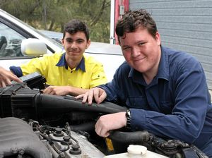 Auto students revved about donation