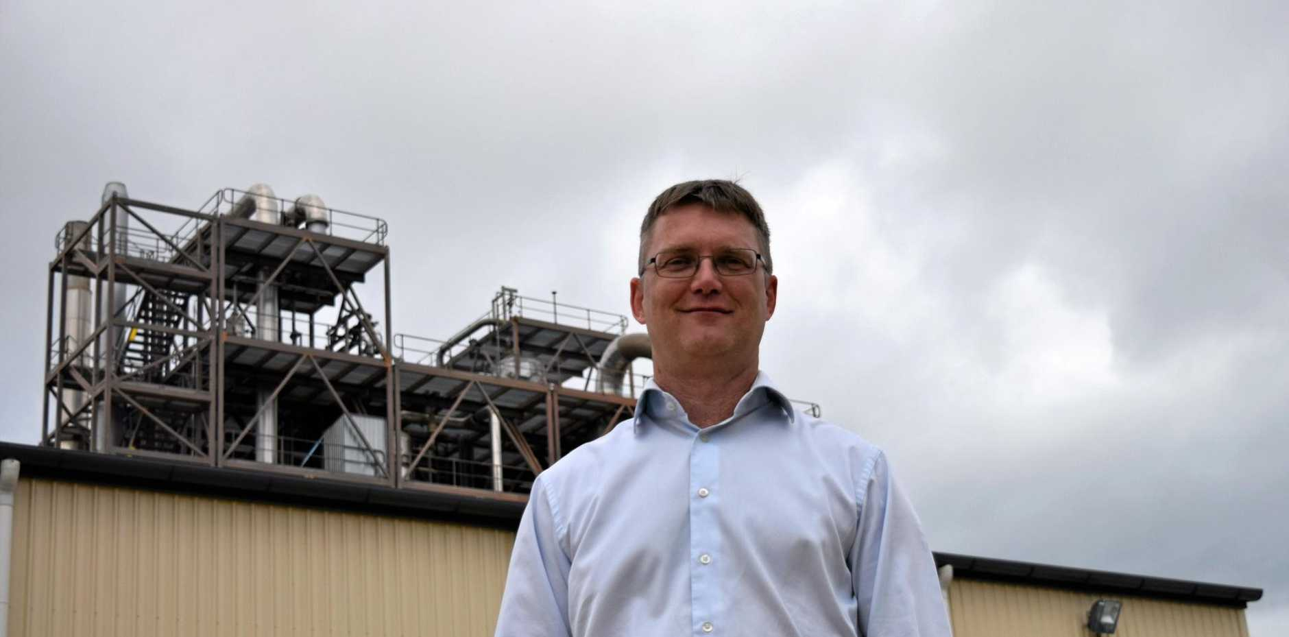 Southern Oil Refinery managing director Tim Rose.
