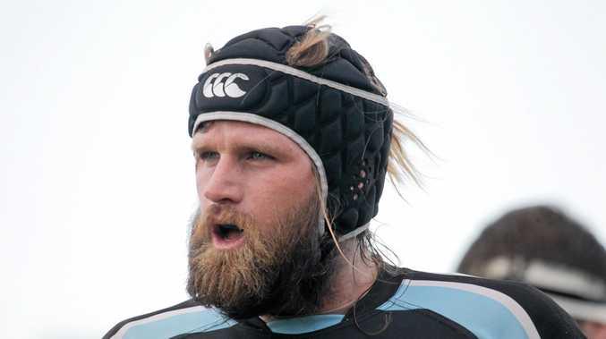 Local rugby union, University v's Maroochydore at Uni: Maroochydore's Hayden Murray. Photo: Brett Wortman / Sunshine Coast Daily
