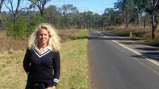 ROADS IGNORED: Smithfield Feedlot owner Barb Madden said the State and Federal governments should start to prioritise regional roads.