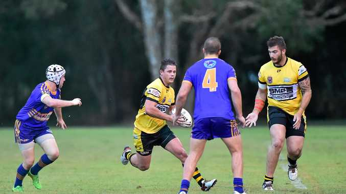 DETERMINED: Caloundra's Brett Doherty is primed for a big match against Maroochydore.