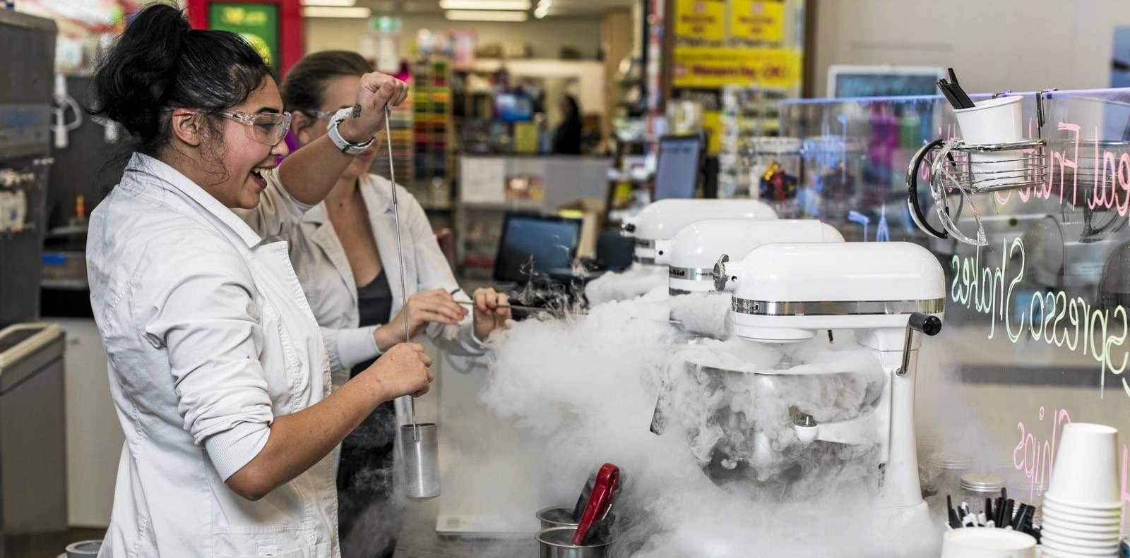 SWEET SUCCESS: The Laboratory is one of three businesses that opened recently in Parkside Plaza.