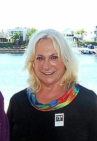 Suellyne Lott, Art advisor and co-ordinator. Think ART (Qld).