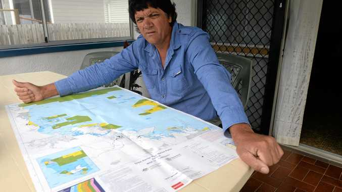 UNCERTAIN FUTURE: Tony Weiss a Bundaberg commercial fisherman is upset about the fisheries reform green paper.