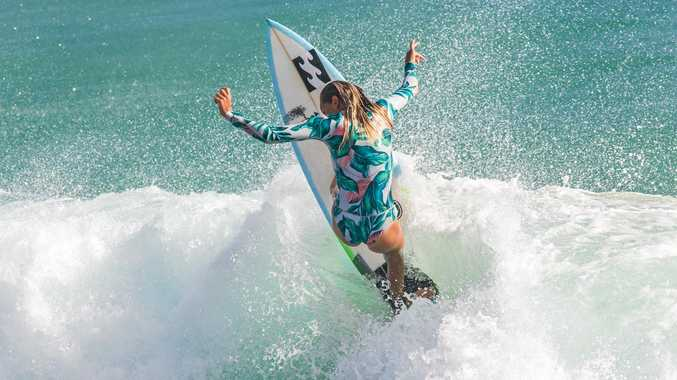 TALENTED: Snapper surfrider Pacha Light is representing Australia at next month's World ISA junior titles at the Azore Islands in Portugal.