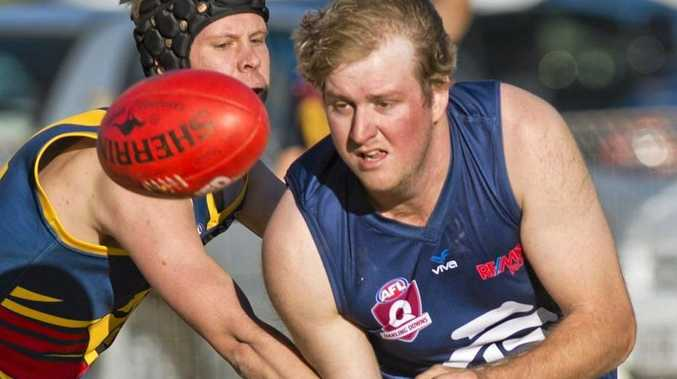 HANDS ON: Carl Horsfall will return to the Coolaroo line-up for the minor semi-final against South Burnett.