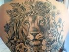 Breanna Smith - Lion and two cubs done by Haylee at Arrows End, two sittings couldn't be happier with how it turned out