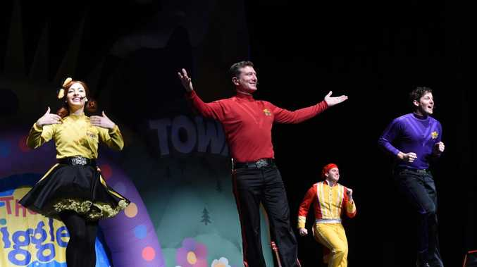 The Wiggles performed in Toowoomba today.