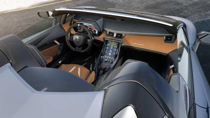 Lamborghini Centenario Roadster. Photo: Contributed