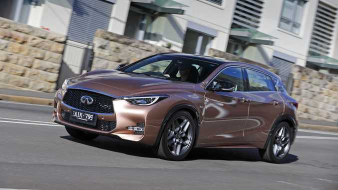 2WD Q30 is the cheaper and more bitumen-biased alternative to Infiniti's QX30.