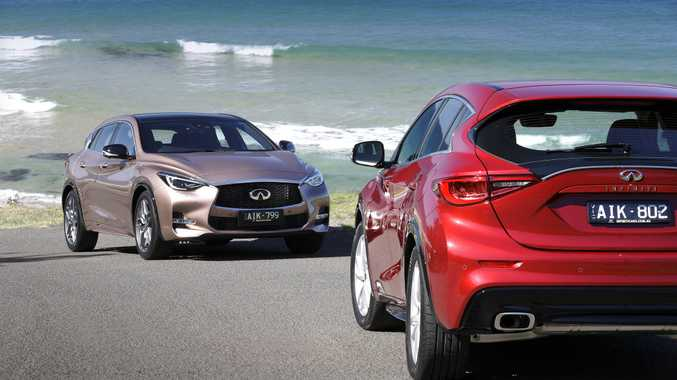 DIFFERENT STROKES: Infiniti hopes to gain more recognition in Australia by offering its Q30 in the small SUV segment.
