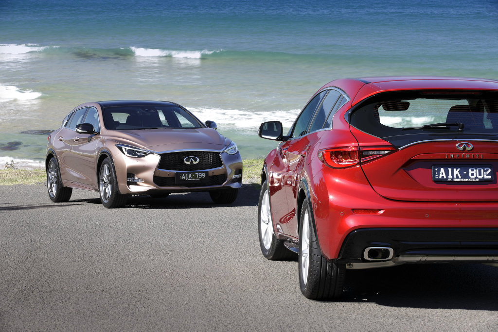 2016 Infiniti Q30 S and Q30 GT. Photo: Contributed