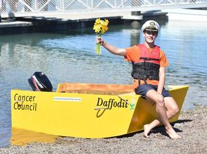 Little Yellow Daffodil Boat