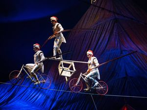 Kooza takes circus-goers back to Cirque Du Soleil's roots