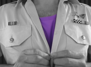 Federal Police support Wear It Purple Day