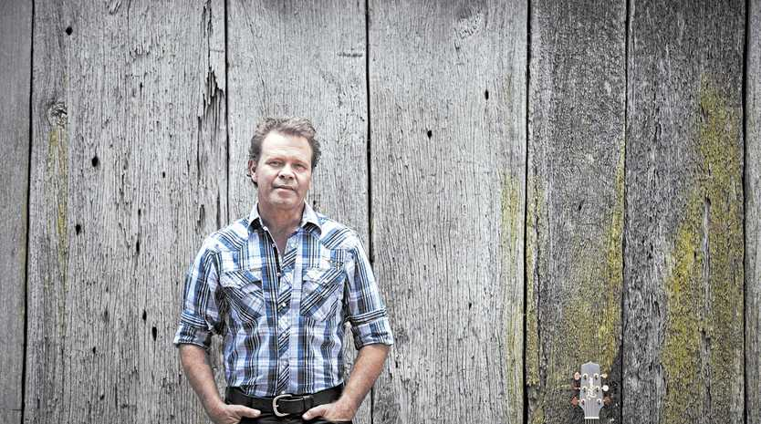 CATCH HIM WHILE YOU CAN: Singer Troy Cassar-Daley plans to take some time off to spend with family next year.