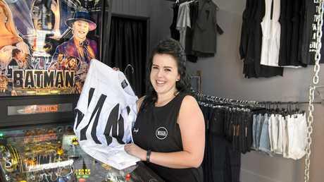 Jayklyn Wright is looking forward to opening her menswear store White Rhino.