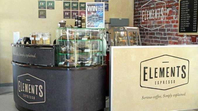 The Elements Espresso creation by Matt Brady, of Matt Brady Builders.