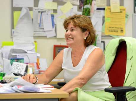 Member for Bundamba Jo-Ann Miller MP at her Goodna office.
